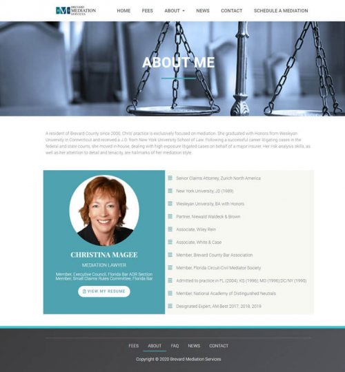 Brevard Mediation Services About