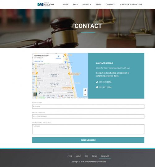 Brevard Mediation Services Contact